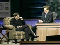 [Conan O'Brien and Bill Gates]