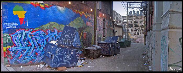 [Gastown Graffiti, Vancouver]